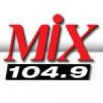 Logo da emissora KMHX 104.9 FM Mix