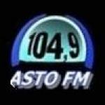 Logo da emissora Rádio Asto 104.9 FM