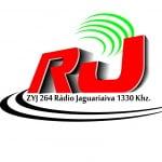 Logo da emissora R�dio Jaguaria�va 1330 AM