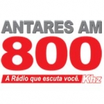 Logo da emissora R�dio Antares 800 AM