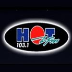 Logo da emissora Radio Hot 103.1 FM