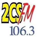 Logo da emissora Radio 2CS 106.3 FM