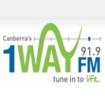 Logo da emissora Radio 1 Way 91.9 FM