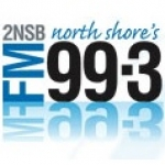 Logo da emissora Radio 2NSB 99.3 FM