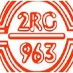 Logo da emissora Radio 2RG 96.3 FM
