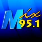 Logo da emissora Radio KMXI 95.1 FM