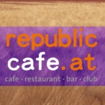 Logo da emissora Radio Republic Cafe