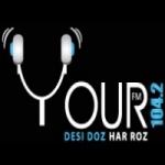 Logo da emissora Radio Your 104.2 FM