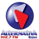 Logo da emissora Rádio Alternativa 102.7 FM