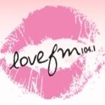 Logo da emissora Radio Love 104.1 FM