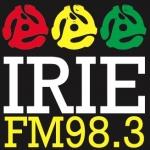 Logo da emissora Radio Irie 98.3 FM