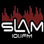 Logo da emissora Radio Slam 101.1 FM