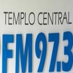 Logo da emissora Rádio Templo Central 97.3 FM