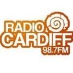 Logo da emissora Rádio Cardiff 98.7 FM