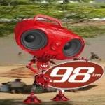 Logo da emissora Rádio Renascer 98.7 FM