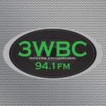 Logo da emissora Radio 3WBC 94.1 FM