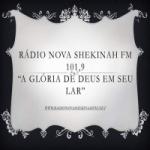 Logo da emissora Rádio Nova Shekinah