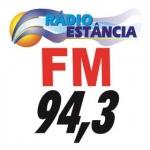 Logo da emissora Rádio Estância 94.3 FM