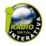 Logo da emissora R�dio Interativa 104.9 FM