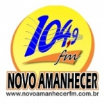Logo da emissora Rádio Novo Amanhecer 104.9 FM