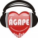 Logo da emissora R�dio �gape 1400 AM