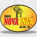 Logo da emissora R�dio Nova Ing� 870 AM