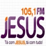 Logo da emissora R�dio Jesus 105.1 FM