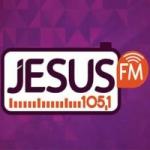 Logo da emissora Rádio Jesus 105.1 FM
