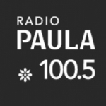 Logo da emissora Radio Paula 100.5 FM
