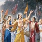 Logo da emissora Rádio Hare Krishna