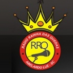 Logo da emissora R�dio Rainha das Quedas 910 AM