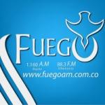 Logo da emissora Radio Fuego 1160 AM