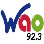 Logo da emissora Radio WAO 92.3 FM
