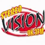 Logo da emissora Radio Stereo Vision 98.3 FM