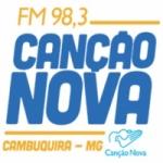 Logo da emissora Radio Can��o Nova 98.3 FM