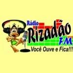 Logo da emissora Rádio Rizadão FM