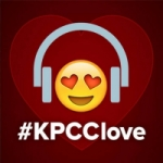 Logo da emissora Radio KPCC 89.3 FM