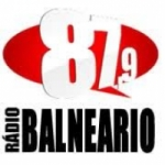 Logo da emissora R�dio Balne�rio 87.9 FM