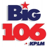 Logo da emissora Radio KPLM 106.1 FM