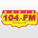 Logo da emissora R�dio Op��o 104 FM