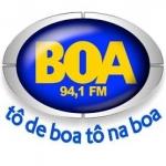 Logo da emissora R�dio Boa 94.1 FM