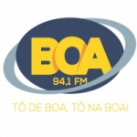 Logo da emissora Rádio Boa 94.1 FM