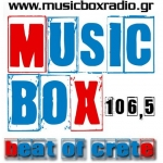 Logo da emissora Radio MusicBox 106.5 FM