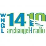 Logo da emissora WNGL 1410 AM Archangel Radio