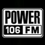 Logo da emissora KPWR 106 105.9 FM