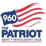Logo da emissora KKNT 960 AM The Patriot