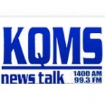 Logo da emissora KQMS 99.3 FM