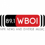 Logo da emissora Radio WBOI 91.3 FM