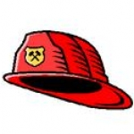 Logo da emissora Radio firemen Riverside County Bombeiro