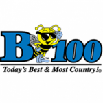 Logo da emissora Radio WBYT B100 100.7 FM